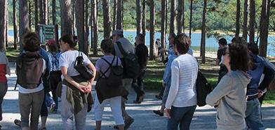 Photo autour du lac sur le chemin